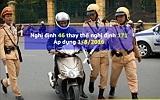 Điều 6 – Nghị định 46/2016/NĐ-CP – Xử phạt về xe máy (thay thế nghị định 171)