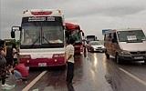 Hai xe khách đâm nhau trên đường Pháp Vân-Cầu Giẽ, nhiều người bị thương