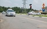 Vượt đèn đỏ khi thi bằng lái xe sẽ bị đánh trượt