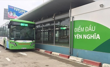Hà Nội thí điểm dùng vé xe buýt điện tử
